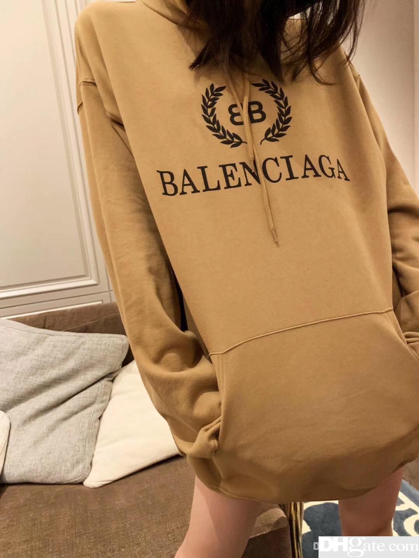 Sudaderas con capucha para mujer Harajuku Sudaderas con capucha de algodón Bolsillos de remiendo sólidos Sudadera grande extragrande Tallas grandes