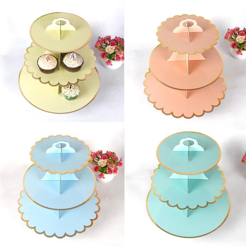 6 tasse Cupcake Stand Support tour Mariage Baby Shower Dessert Affichage Faveurs