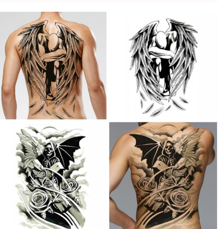 Wholesale Back Tattoo Designs Men Buy Cheap In Bulk From China Suppliers With Coupon Dhgate Com