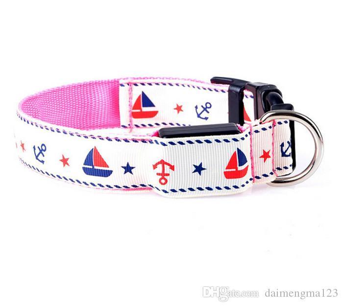 camouflage led flashing dog new LED flashing dog collar LED pet collar necklace/cat collar