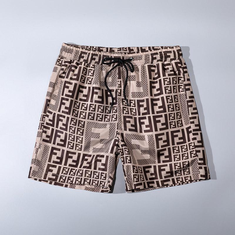 XXXL, Gray Stripe Print Quick Dry Beach Short Pant QIUUE Casual Short Pants
