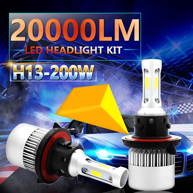 VicTsing-2Pcs-H13-9008-200W-20000LM-LED-Headlight-Kit-Power-Bulbs-6000K-White-H13-LED-Bulb-Car-Light-DC-12V-24V-Auto-Headlights--(8)