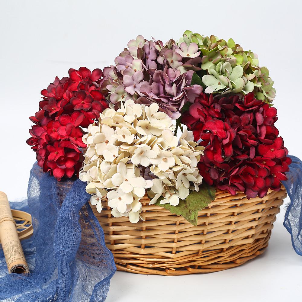 Vaso Con Ortensie Finte sconto fiori di seta ortensia   2020 fiori di seta ortensia