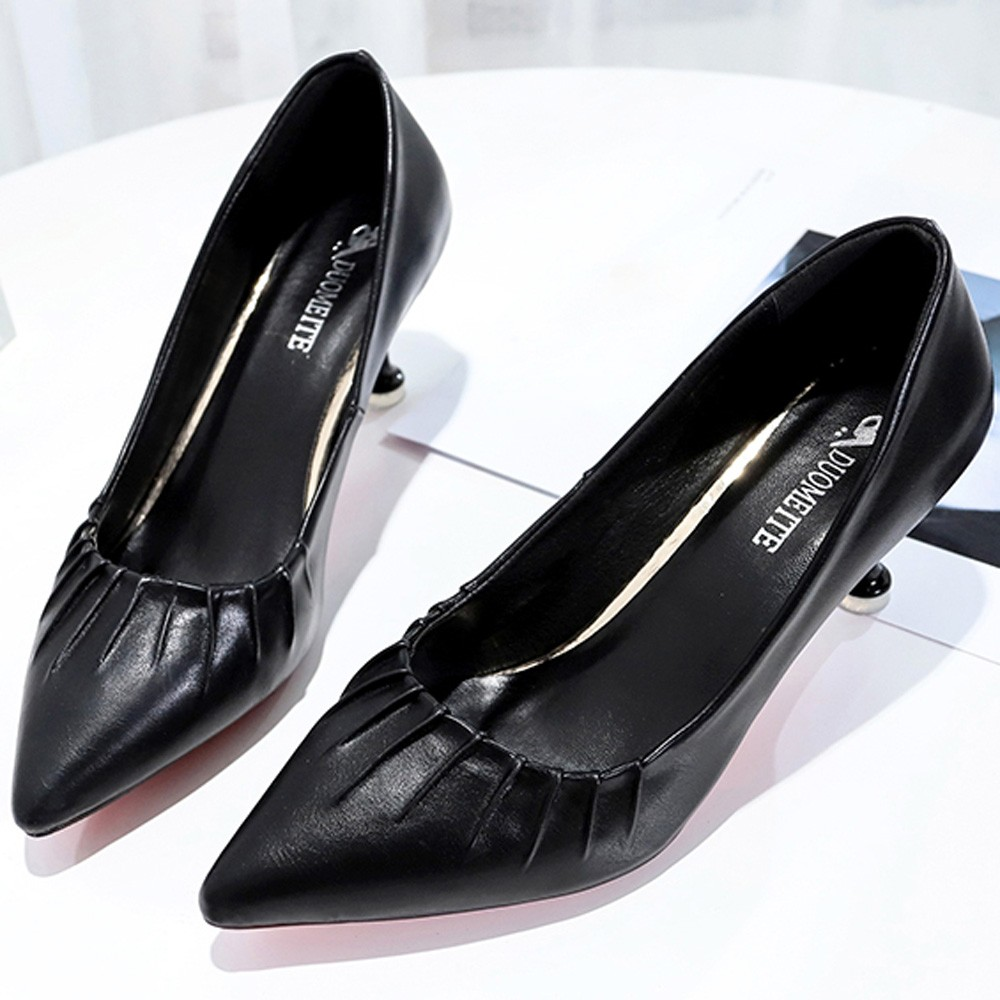 Designer Dress Shoes Hot sale Fashion Women Shallow Mouth Professional Stiletto Pointed Toe High Heel for dropshipping