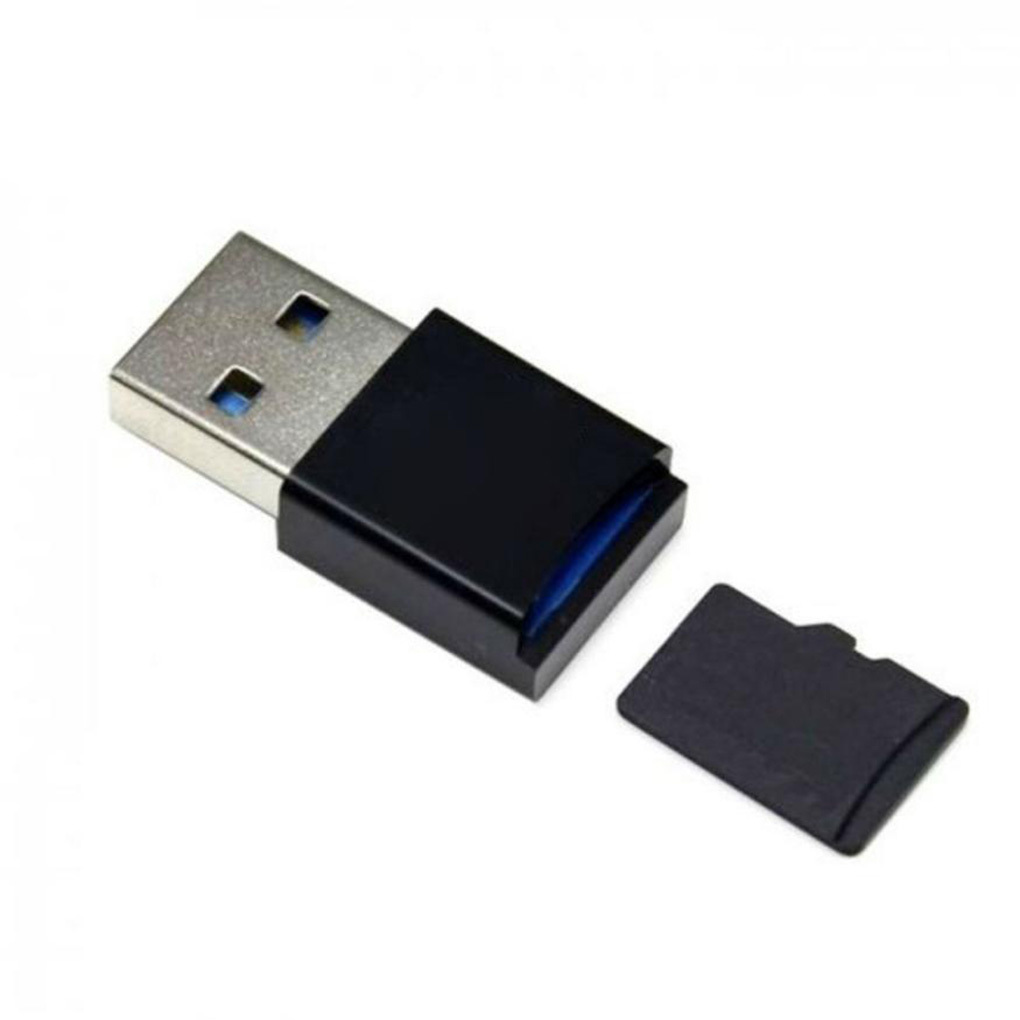 Transmission de données à grande vitesse miniature mobile Carte mémoire adaptateur usb 3.0 Tf Light