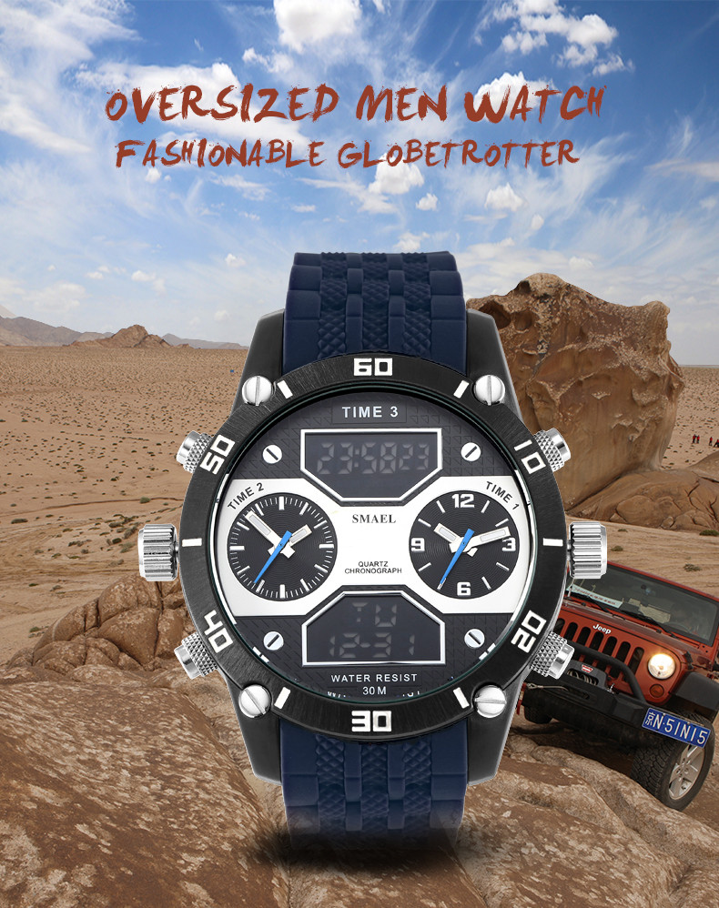 1.big watches for men