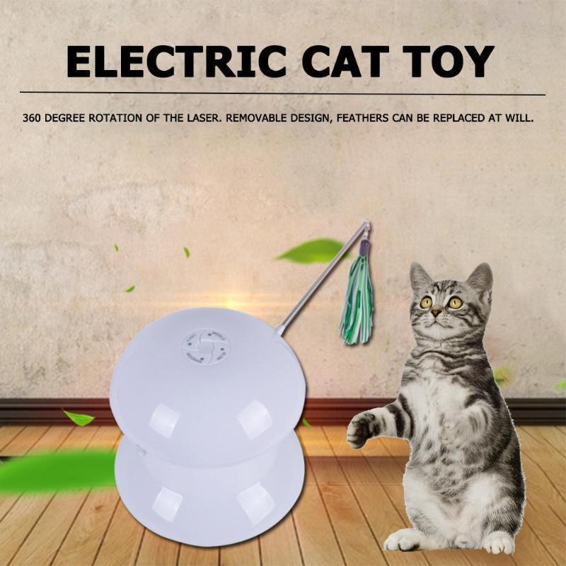 Electric Pet Kitten Toy Charging Model Laser Amusement Disk Funny Cat Dolls