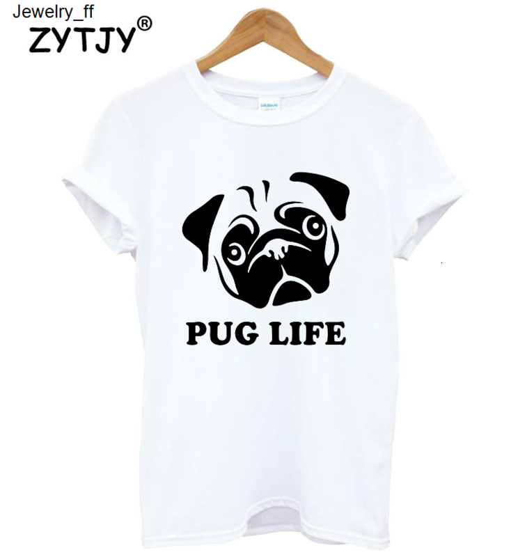 Pug Life T-Shirt-Funny Humorous Novelty Shirt-NEW-S-XXXL