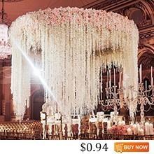 JAROWN-Artificial-Wedding-Hydrangea-Flower-Vine-Simulation-Silk-Flowers-String-Colored-Hanging-Flower-Vine-Stage-Effect