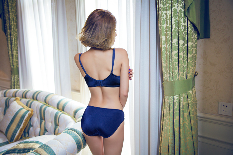 Jerrinut Sexy Lingerie Set Underwear Women Push Up Bra Set Seamless Embroidery Bra And Panty Brassiere Bra Brief Sets 55 (2)