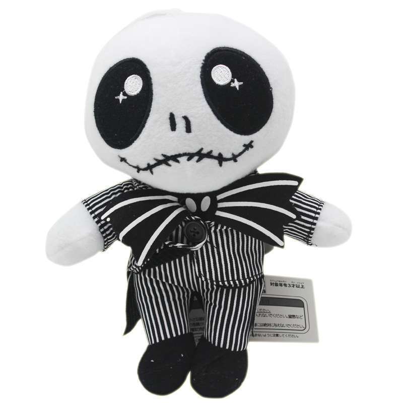 Christmas Eve Cry Jack Plush Toy Reborn Kits Devil Human Skeleton Head Evil Do Cute Soft Toys Sale Halloween A Doll Baby