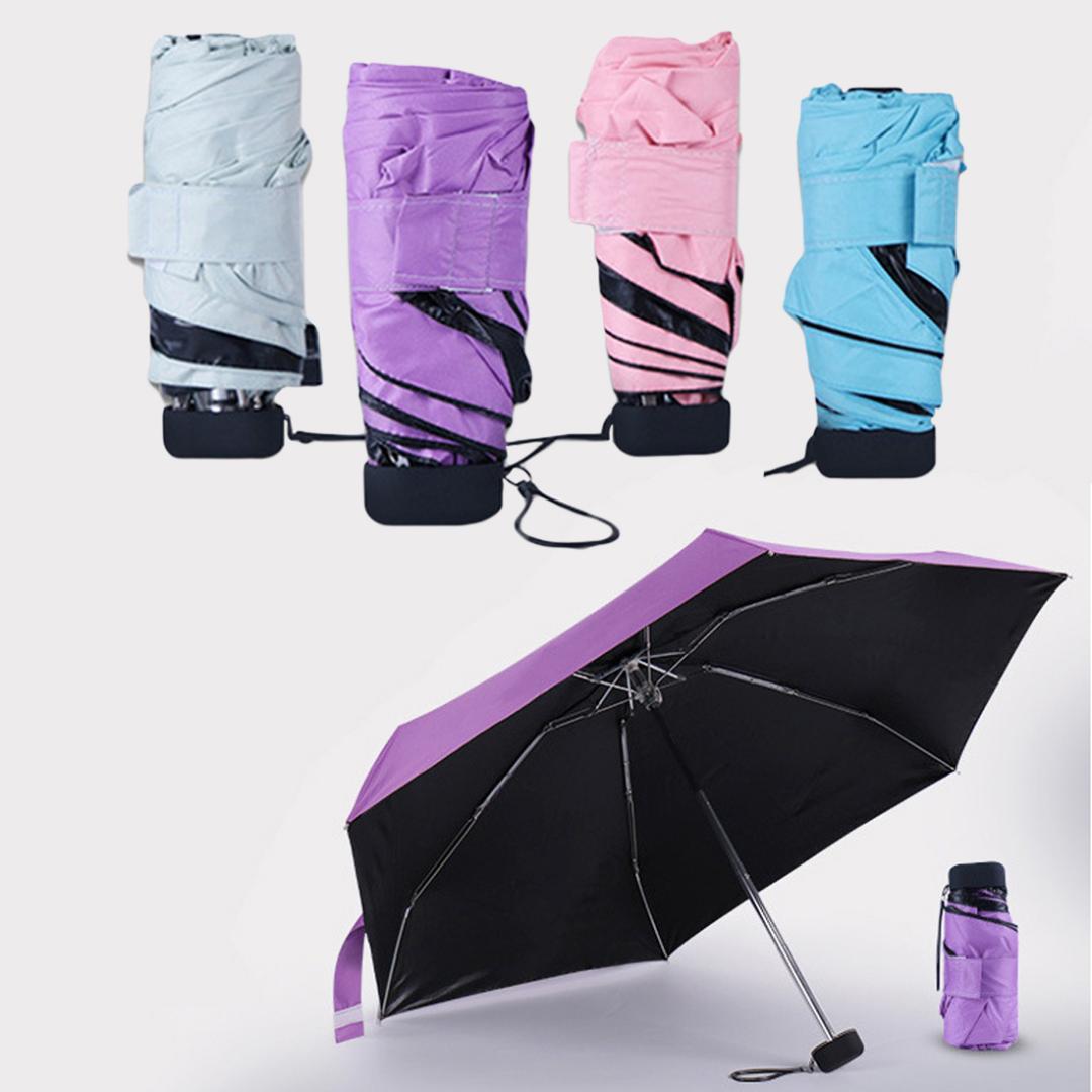 Bananen-Regenschirm-beweglicher Regen-Sun-netter kreativer faltender Regenschirm