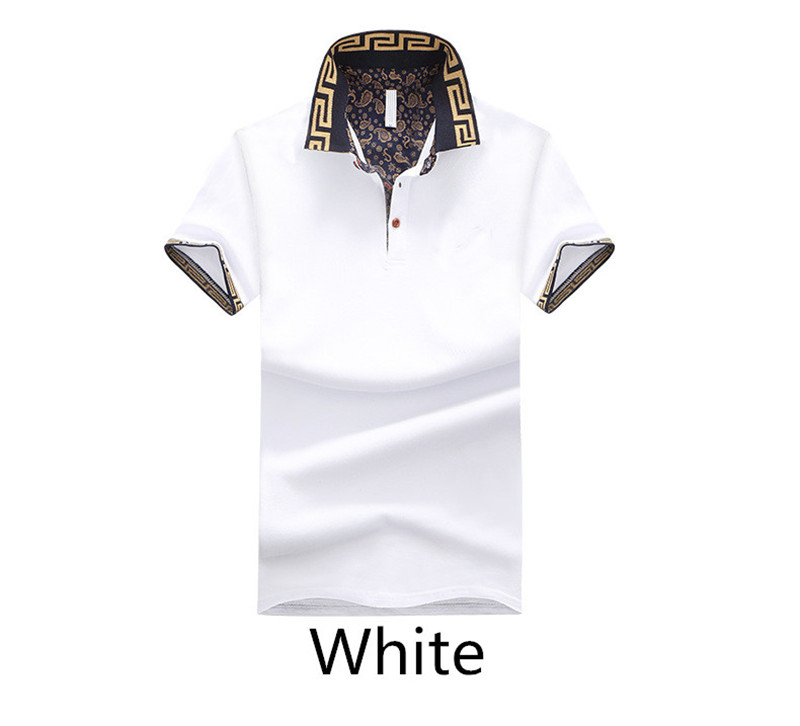 Abetteric Mens Short Sleeves Outdoor Turn-Down Collar Button-Down Work Shirt