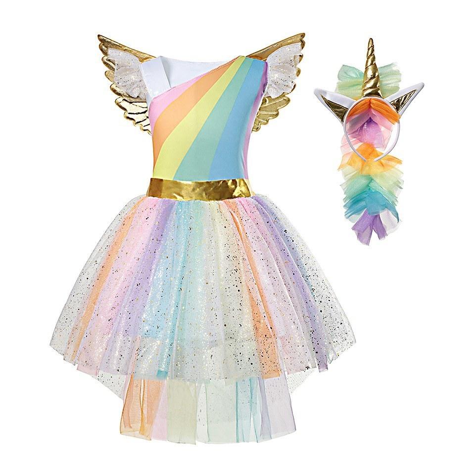 Rainbow Unicorn Dress (1)