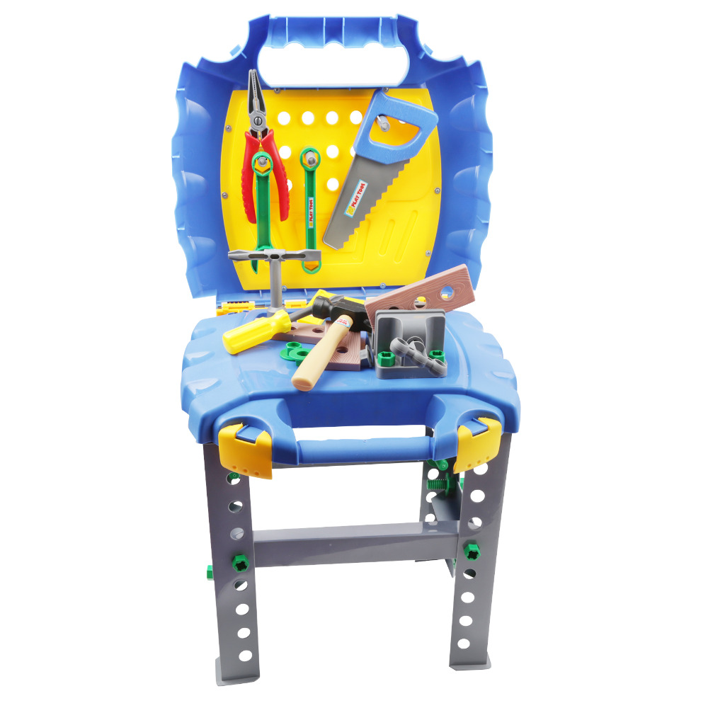 Wondrous 2019 Simulation Childrens Tool Box Foldable Work Bench With Repair Tools Set Kids Role Play Toy Mutifunctional Plastic Hand Tools From Diangame Pabps2019 Chair Design Images Pabps2019Com