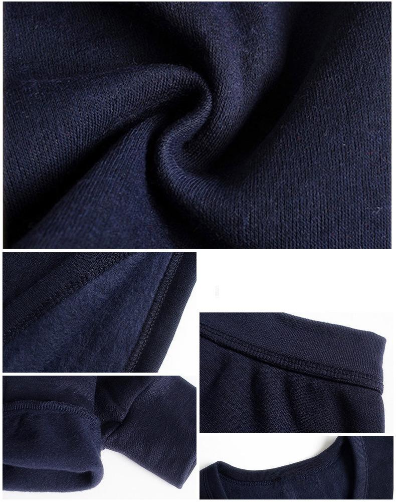Thermal Underwear For Men Plus Size Thermal Underwear Set Winter Long Johns Men Warm Thermal Underwear Set Thermo Kleding 19