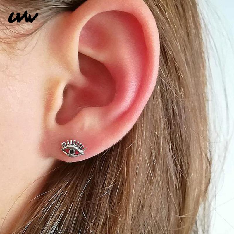 Tragus Helix oreja piercing joyas cartilage conector flor floración con cristales