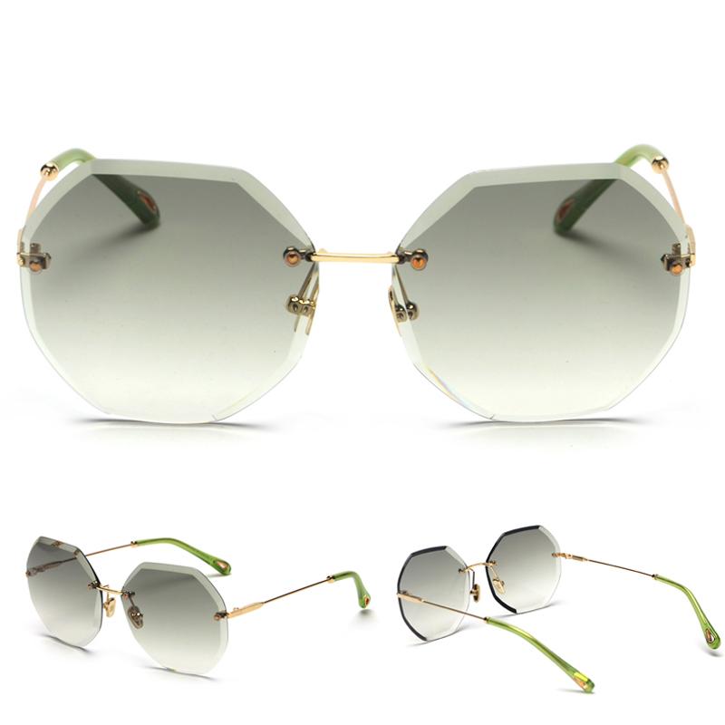 Octagon Sunglasses Women Fashion detaail (5)