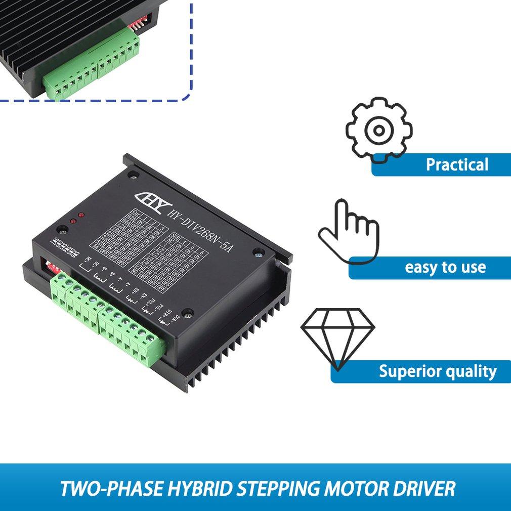Single Axis 4A Stepper Motor Driver Controller 9V-40V SENRISE TB6600 CNC Micro-Stepping Stepper Motor Driver Stepper Motor Driver