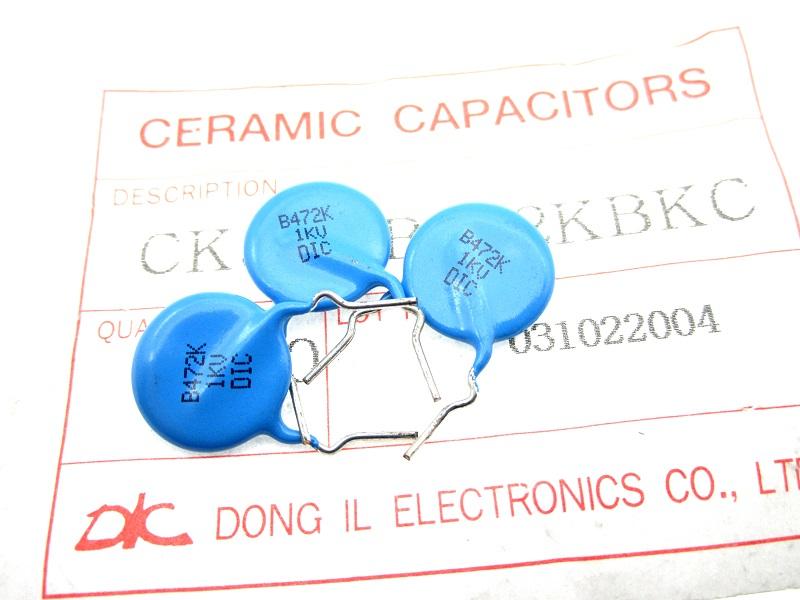 New 50pcs CT81 6KV 222 6000V 2200pf 2.2nf High Voltage Ceramic Capacitors