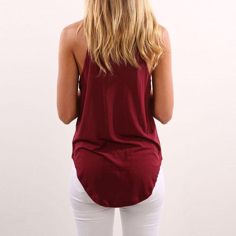 Yeni Bayan Yelek Bluzlar Kolsuz Kadınlar Bayanlar Yumuşak Kısa Üst Gömlek Bluz Casual Tank Tops Gömlek Tops