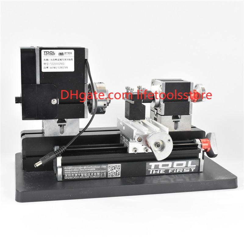 Metal Rotating Lathe Motor DIY Tools as children/'s Gift 12000r//min 60W