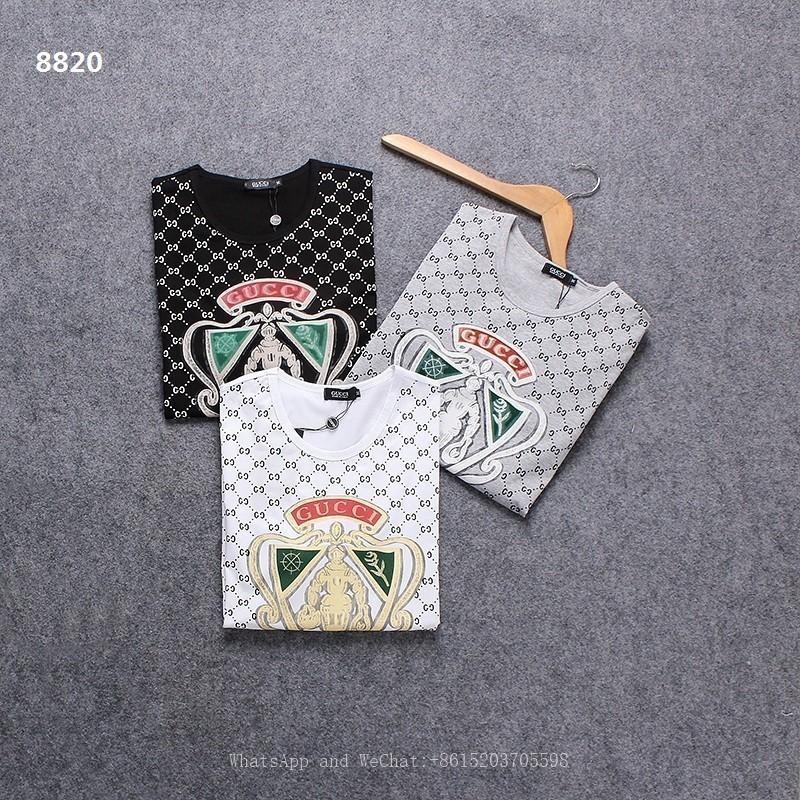 2019 Camiseta de verano Nuevo Patrón Hombre Impresión Corto T Lástima Hombre Cuello redondo Tiempo libre Ocio Media manga Representación Sin forro
