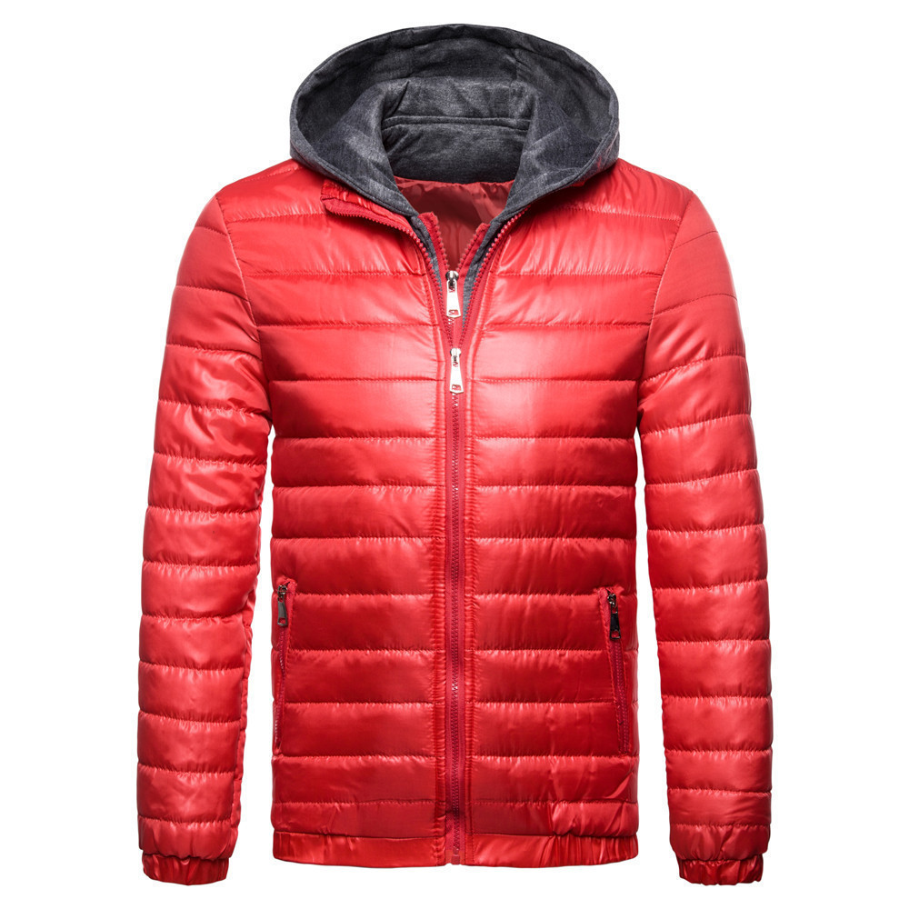Urban Classics Padded Windbreaker Jacket AutumnWinter Hood