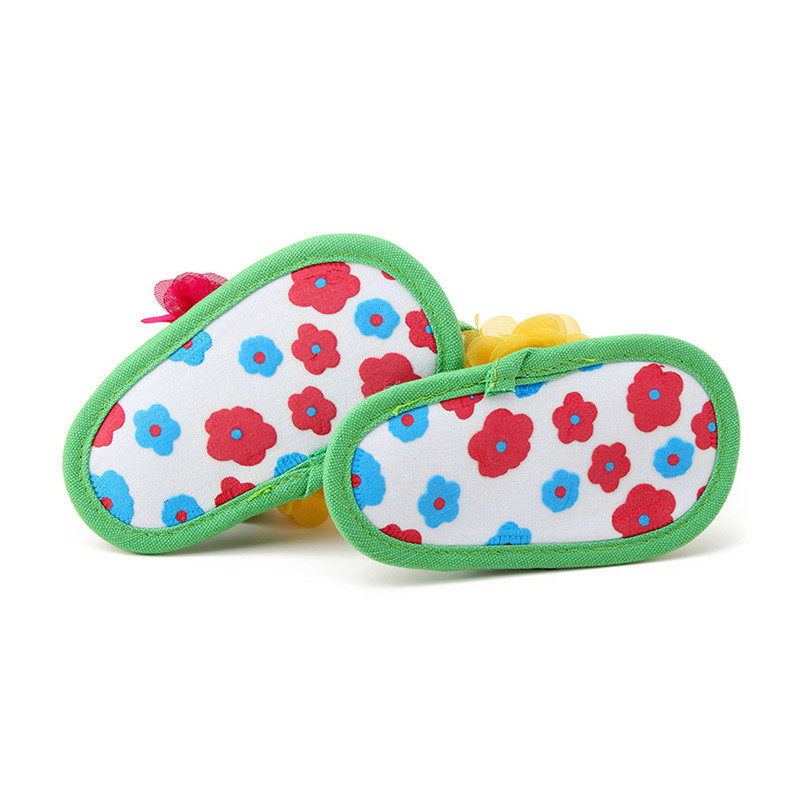 Summer Baby Shoes Girls Newborn Toddler Baby Girls Flower Sandals Soft Sole Anti-slip Shoes Kids Girl Flower Sandal M8Y17 (3)