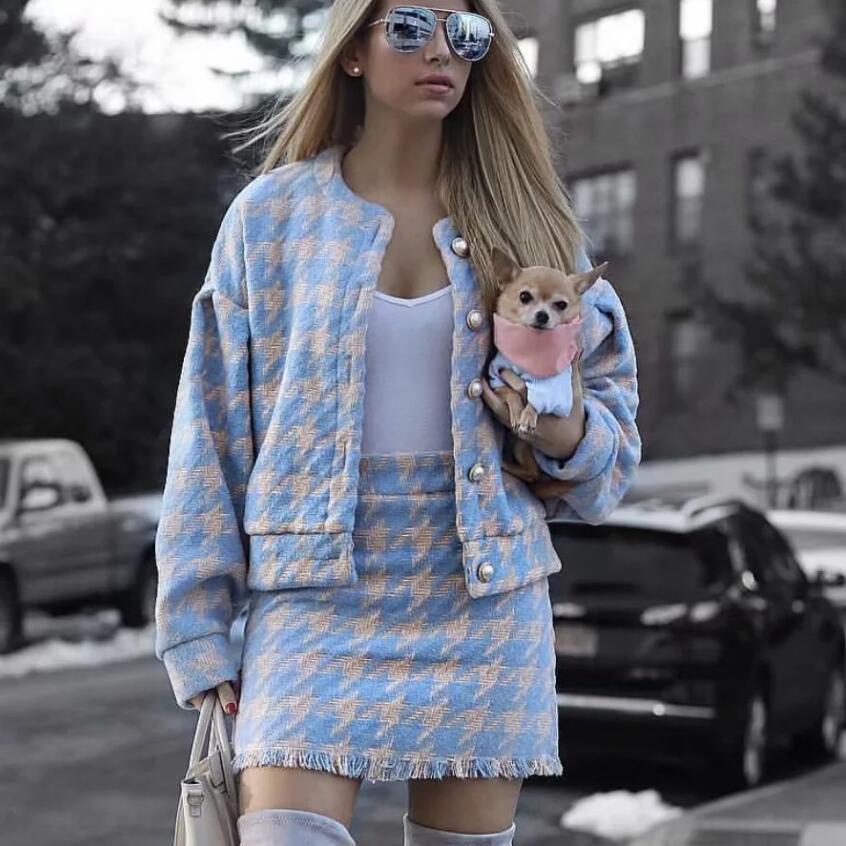 2018-Women-vintage-Skirt-Sets-Winter-Ladies-Woolen-Tweed-Jacket-Short-Skirt-Suits-Elegant-Two-Pieces (1)