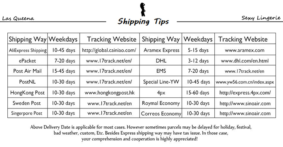 shipping tips