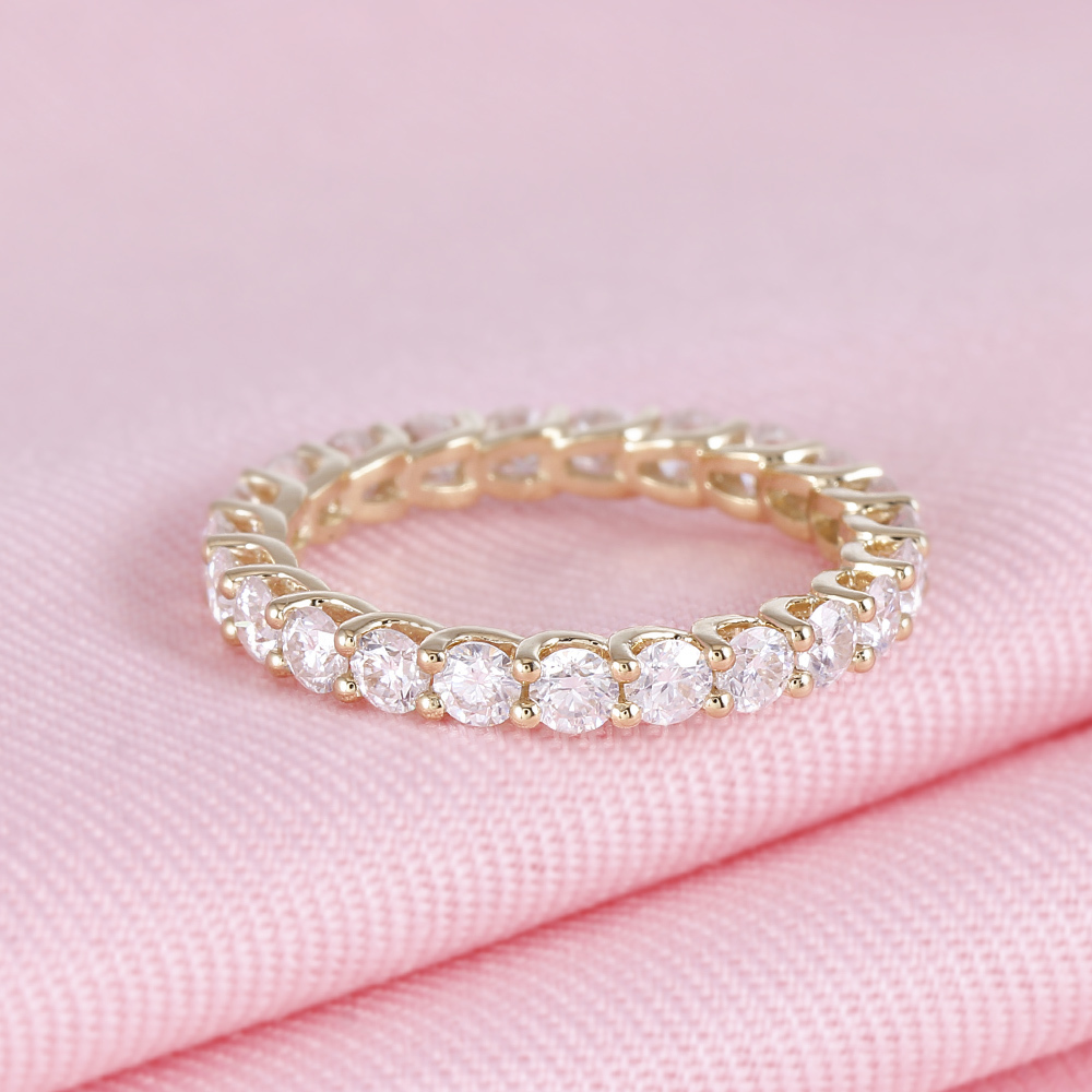 moissanite eternity wedding band (3)
