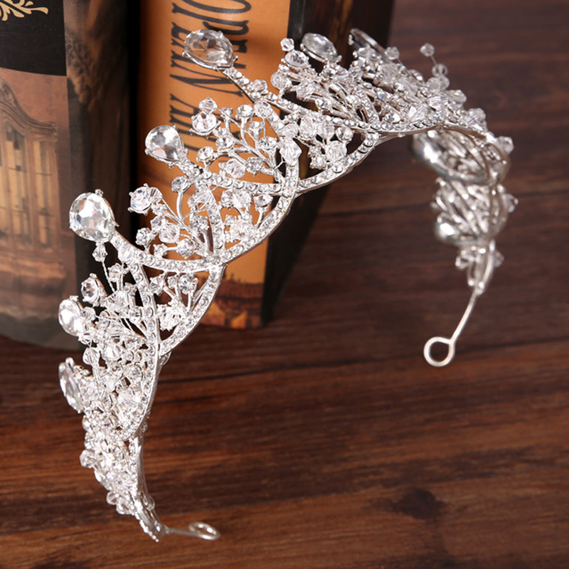 Hair-Jewelry-Vintage-Silver-Crystal-Tiara-Prencess-Wedding-Crown-Handmake-Bride-Hair-Accessories-Wedding-Jewelry-Accessories.jpg_640x640