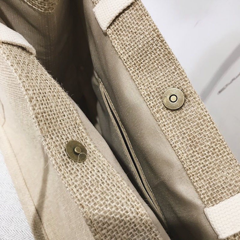 Summer New Women Weave Handbag INS Popular Fashion Female Letter Beach Straw Bags Ladies Travel Casual Braided Tote Bolsa SS3365 (6)