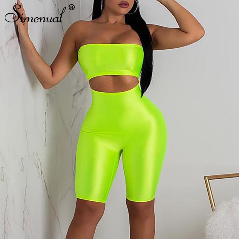 neon color biker shorts jumpers bodysuits women crop tops leggings push up bodybuilding (1)