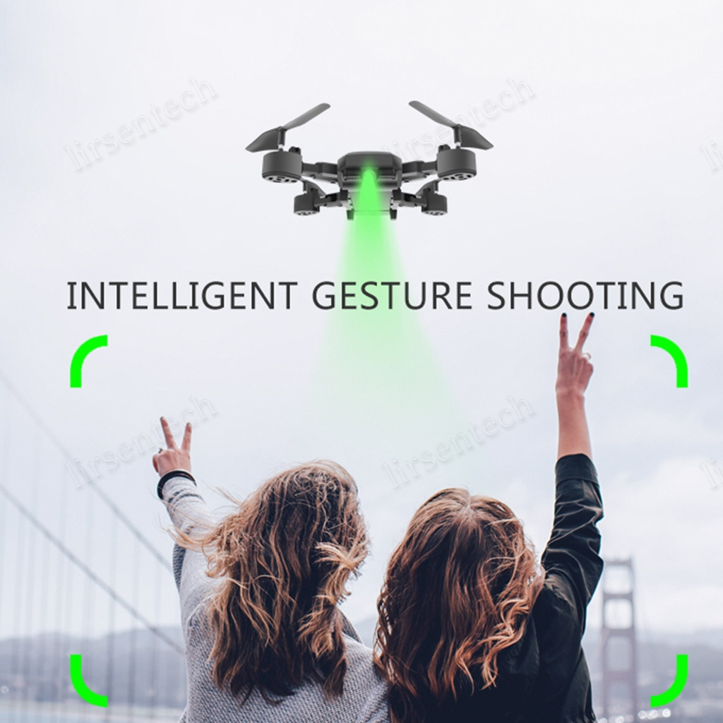 Foldable HDRC D8 WIFI 1080P Four axis Drone & Camera HD Quadcopter 20 Mins Flight Duration 6.6 4K WIFI battery Inside DHL UPS Shipping