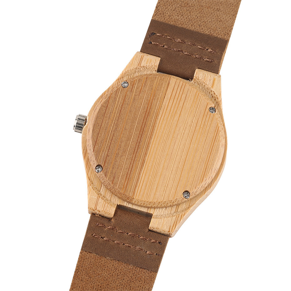 simple design fashion bamboo woood women watches05