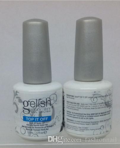 2017 High quality Harmony gelish memory gel polish nail art design TOP it off and Foundation harmony gel nail polish