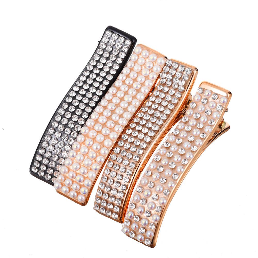 New Korean Fashion Hair Clips For Women Barrette Pearl Hairpins Girls Hair Accessories Bling Accesorios Para El Cabello