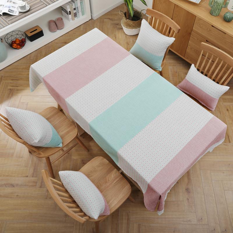 Sytlish Linge De Table Tissu Pays Style Plaid Imprimer Multifonctionnel Rectangle Couverture De Table Nappe Maison Cuisine Décoration Y19062103