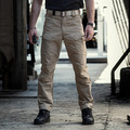 2018 new Men Cargo Pants Multi-pockets Baggy Jean Pants Cotton Military Camouflage Trousers Loose Baggy Tactical Trousers