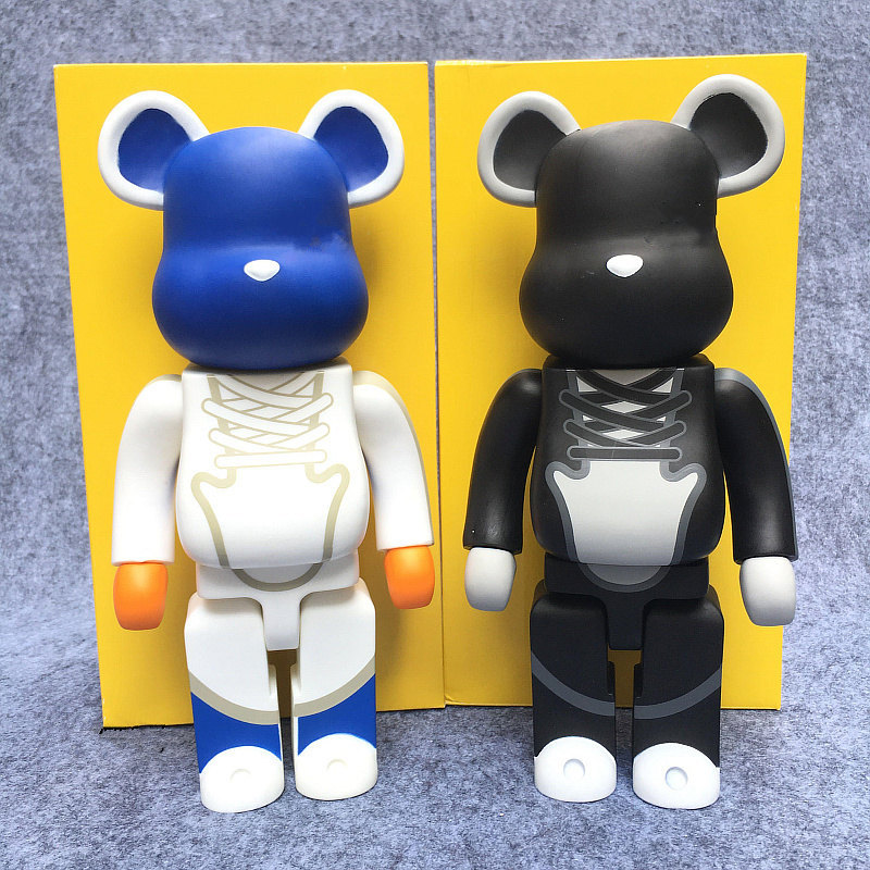 Teddy Blanco Plástico Juguete Articulaciones para Muñeca Animal Haciendo