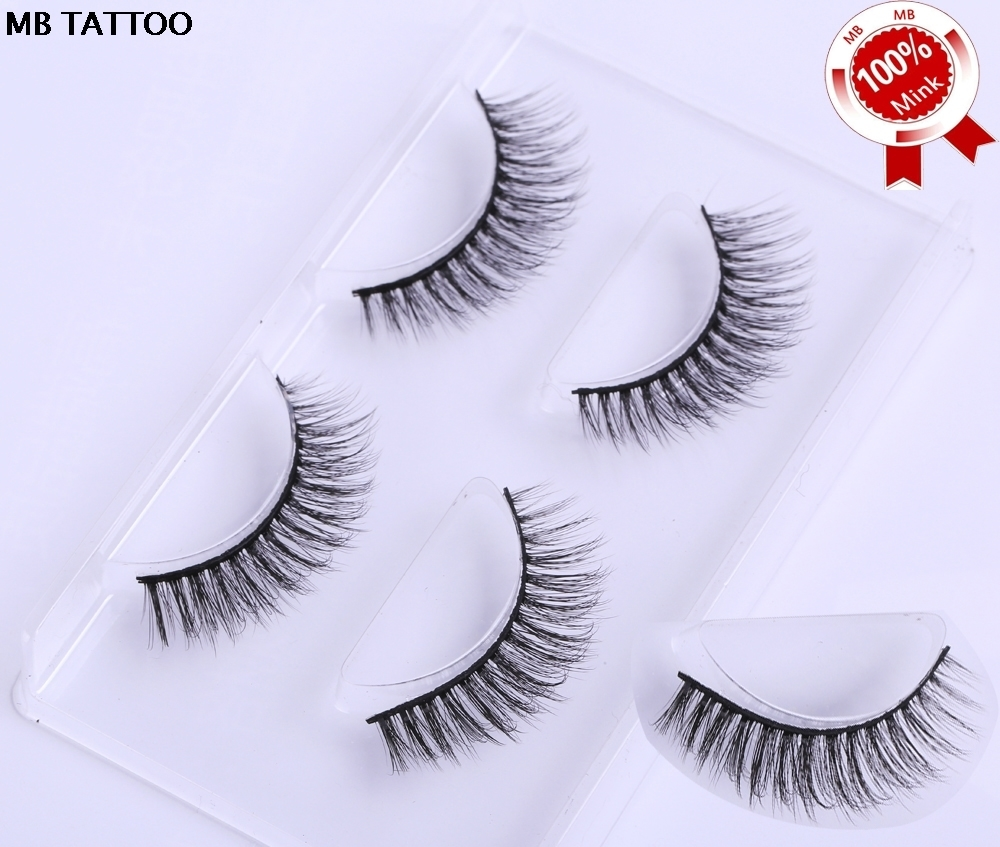 100% 3d Lashes Packing Natural Thick Crisscross False Eyelashes Pure Handmade Cotton Stalk Fake Eye Lashe