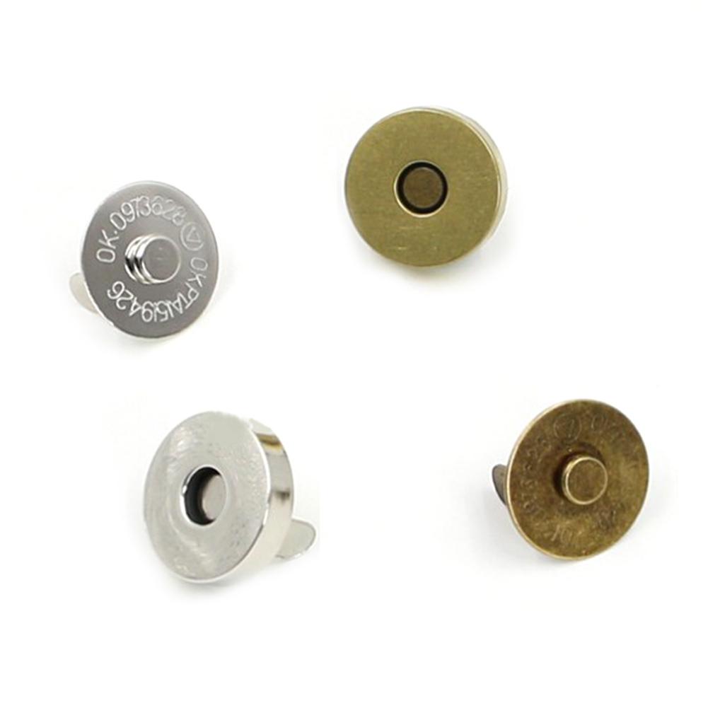 20 sets Magnétique Fermeture Pression Attaches Boutons Sac à Main Fermoir Sac à Coudre Craft