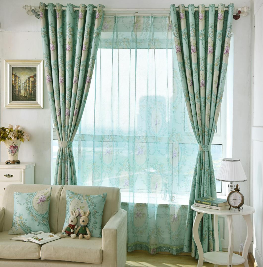 Rideaux Pour Salle A Manger Moderne rideaux européens shading simple motif moderne pour salon salle à manger  chambre chambre.