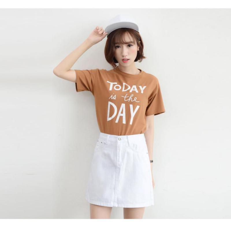 2019 Available Summer New Arrival Fashion Denim Clothing Women Korean Style High Waist Denim Skirt