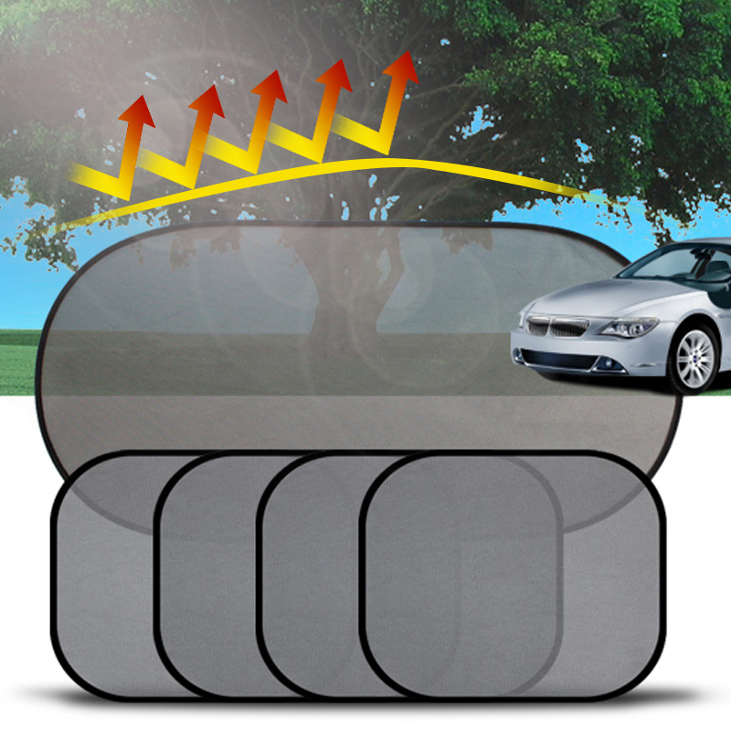 M MagiDeal Car Sun Shades Mesh Cover Auto Anti-Mosquito Net Windshield Sunshade
