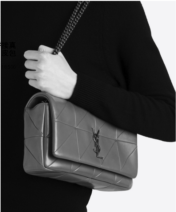 The small women's shoulder bag all black Italy imports South African cow leather high quality high-quality handbag factory price