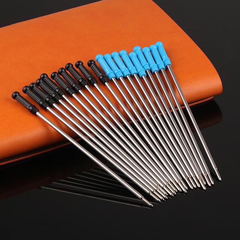 Kugelschreiberminen Parker-System 424 Neue Großraumminen·Metall blau//schwarz
