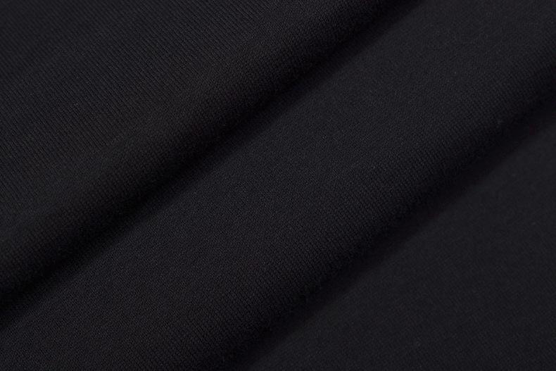 Cool2019 Street High Style Street Trend Негабаритных Легкий Шею Листьев Печати С Коротким Рукавом T Рукава Мужчин И Женщин